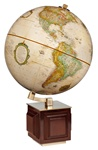 Frank Lloyd Wright Four Square Globe by Replogle