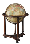 Antique Ocean Lafayette Globe by Replogle