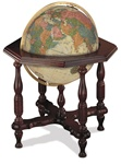 Antique Ocean Statesman Globe by Replogle