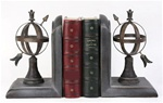 Arrow and World Sphere Bookends