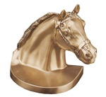 Horse Head Wearing Halter Bookends