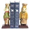 Two Chef Bunny Bookends