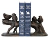 Continuing Branch With Pairs of Birds Bookends
