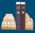 Architectural Scroll Monument Bookends
