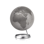 Full Circle Vision Silver Globe by Atmosphere
