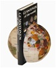 6 Inch Opal Gemstone Book Ends