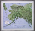 Raised Relief Map of Alaska