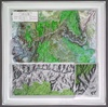 Raised Relief Map of Grand Canyon National Park S Series