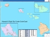 Hawaii State Zip Code Map