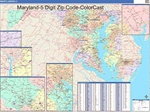Maryland State Zip Code Map