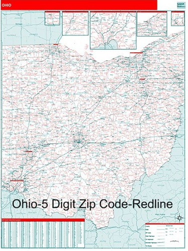 Alfa Img  Showing Gt Ohio Postal Code Map