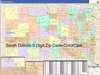 South Dakota State Zip Code Map