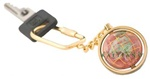Rubalite Gemstone Key chain