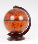 16 Inch Old Nautical Tabletop Globe - Drink Cabinet
