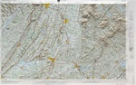 Raised Relief Map of Rome, Bumpy Maps