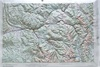 Raised Relief Map of Leadville Colorado, Bumpy Maps