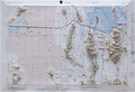 Raised Relief Map of Tooele, Bumpy Maps