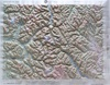Raised Relief Map of Concrete Washington, Bumpy Maps