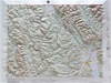 Raised Relief Map of Kalispell, Bumpy Maps