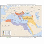 Map of Decline Of The Ottoman Empire, 1774-1914