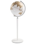 The Vasco da Gama World Globe - White