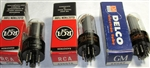 Brand Spanking NEW, Single Tubes MINT NOS NIB RCA 1960s 6V6GT and 6V6GTA Black and Gray Plate. Made in USA. Very desirable tube for Guitar folks.