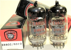 MINT NOS NIB Early 1960s Raytheon Made in USA 6922 tubes. Relabeled by Lewis and Kaufman Los Gatos brand in early 1980s.
