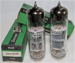 Brand New, MINT NOS NIB Mid 1970s production Tungsram E80CC/6085 Tubes with Zaerix Label. Made in Hungary. Non-corrosive alloy pins. Tungsram made some of the finer tubes in Eastern Europe due to its exposure to subsidiaries in Gt. Britain and Austria.