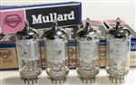 Brand New MINT NOS NIB MBLE Mazda EF86 1966-68 Mesh Shield Mullard Old Shield with BVA Label . Some of the most desirable EF86 tubes. MBLE was Philips Plant in Belgium. Etched date codes 8Y5 (1966-67) or 8Y6 (1968) L8xx for MBLE Belgium Brussels plant.