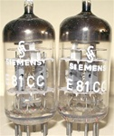 Siemens & Halske - 1966 3-MICA E81CC Munich W. German - Premium ECC81/12AT7