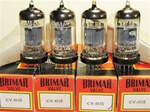 Brand New MINT NOS NIB Rare Early 1960s BRIMAR CV4035 Box Plate Military tubes with BVA logo. CV4035 Flying Lead is a Premium Grade, High Reliability Long Life version of ECC83/CV492/CV4004/6057/12AX7 valves (Click Here). Etched STC Date Codes are faint b
