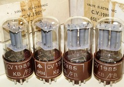Brand New, Matched Pairs RARE MINT NOS NIB AUGUST-1956 Brimar CV1985 6SL7GTY Tubes. Square Getter and Brown Micanol Base. STC Footscray production. From British Military Stock. One of the most desirable 6SL7 type tubes.