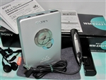 Like New 2001 Sony Walkman Cassette Player WM-EX621 with Original Box - Made in Malaysia - Reconditioned