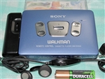 Like New 1995 Sony Walkman Cassette Player WM-EX622 BLUE - Made in Japan - Reconditioned