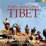 Temple Music from Tibet, CD <br> By: Deben Bhattacharya