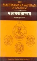 Madhyamakasastram of Nagarjuna Vol.1 and 2, in Sanskrit