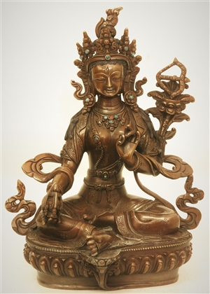 Red Tara 05 inch Copper