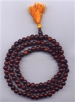 Mala Rose Wood, 09 mm, 108 beads
