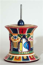 Prayer Wheel, Desktop version, large