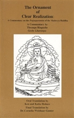 Ornament of Clear Realization: The Prajnaparamita Teachings <br> By: Thrangu Rinpoche