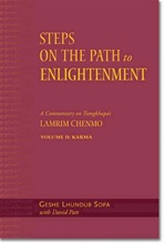 Steps on the Path to Enlightenment, Vol 1: The Foundation Practices <br>  By: Geshe Lundrup Sopa St