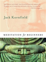 Meditation for Beginners, Book + CD <br>  By: Jack Kornfield