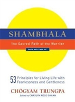 Shambhala, Sacred Path of Warrior, Book & Card Set