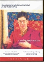 Transforming Mental Afflictions, DVD<br> By: Lama Kathy Wesley