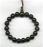 Wrist Mala Quartz Smoky, 10 mm, 18 beads