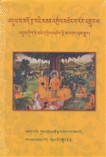 Vinaya Sutra Root Text with the Karmapa's Outline, 'dul ba mdo rtsa ba (Tibetan Only) <br> By: