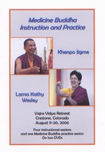 Medicine Buddha Instruction and Practice, DVD-R <br> By: Khenpo Jigme & Lama Kathy