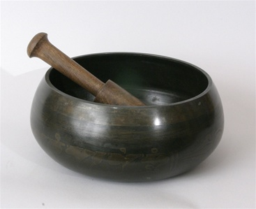 Singing Bowl, Cast Iron, 05 inch
