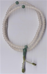 Mala Jade White, 05 mm, 108 beads