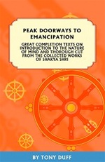 Peak Doorways to Emancipation: Great Completion Texts on the Introduction to the Nature of Mind and Thorough Cut from the Collected Works of Shakya Shri